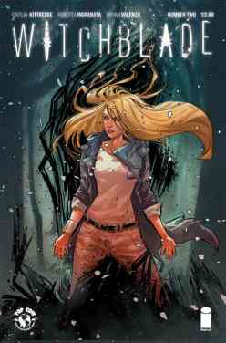 Witchblade #2 cover