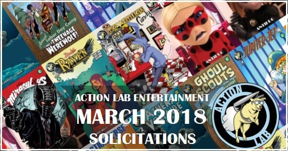 Action Lab Entertainment - March 2018 Solicits