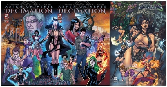 [Preview] Aspen Comics' 1/17 Release: ASPEN UNIVERSE: DECIMATION #4