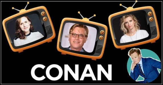 Last Night on CONAN - 1/17/18: Molly Shannon | Aaron Sorkin | Mo Welch