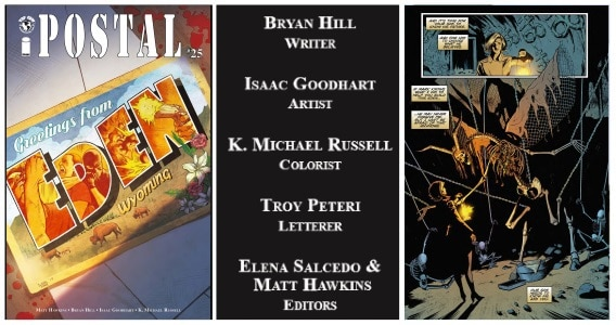 [Preview] Top Cow's 1/24 Release: POSTAL #25 by Bryan Edward Hill & Isaac Goodhart