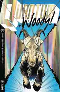 QUANTUM AND WOODY! (2017) #3 – Extreme Ultra-Foil Chase Variant by Geoff Shaw