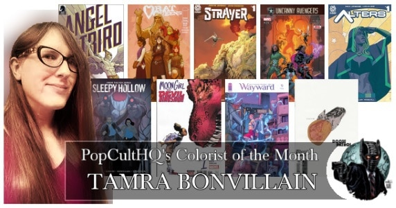 [Creator Spotlight] Colorist of the Month - January 2018: Tamra Bonvillain