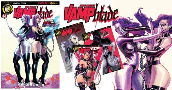 [Comic Book News] Jason Martin & Marcelo Costa Will Have You Seeing Double in VAMPBLADE - Season Three #1