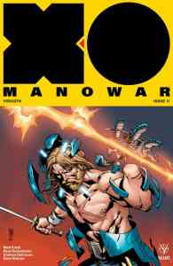X-O MANOWAR #11 – Cover B by Giuseppe Camuncoli