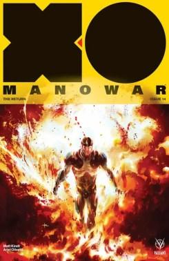 X-O MANOWAR #14 – Variant Cover by Keron Grant