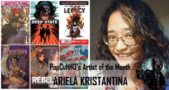 [Creator Spotlight] PopCultHQ's Artist of the Month - February 2018: Ariela Kristantina