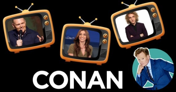 Last Night on CONAN - 2/5/18: Bill Burr | Chelsea Peretti | Seann Walsh