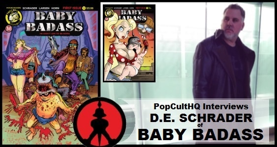 [Interview] Writer D.E. Schrader of Action Lab: Danger Zone's BABY BADASS #1