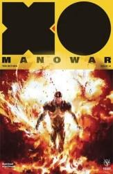 X-O Manowar #14 - Variant by Keron Grant