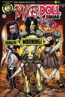 Danger Doll Squad Volume 2 #1 - Cover F Bill McKay risqué variant