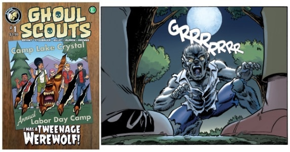 Ghoul Scouts Volume 2 #1