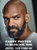Khary Payton appearing at C2E2 2018