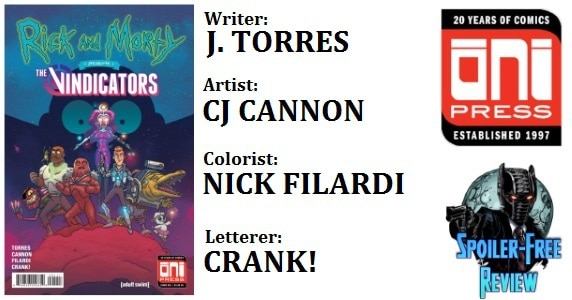 Rick and Morty vs. The Vindicators #1