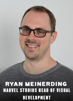 Ryan Meinerding appearing at C2E2 2018