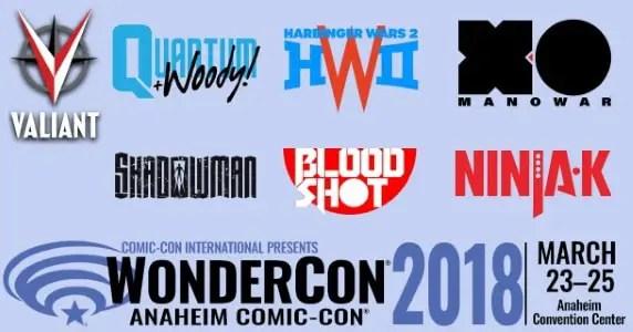 WonderCon 2018 - Valiant Entertainment