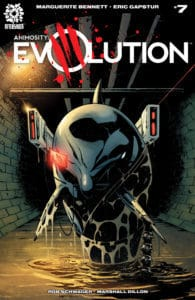 ANIMOSITY EVOLUTION #7 Eric Gapstur cover