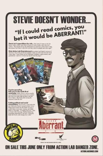 Aberrant - Stevie Wonder Ad