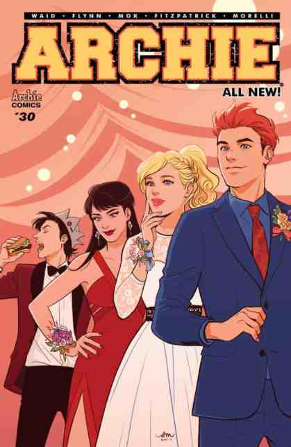 Archie #30 - Main Cover by Audrey Mok