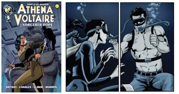 Athena Voltaire and the Sorcerer Pope #3