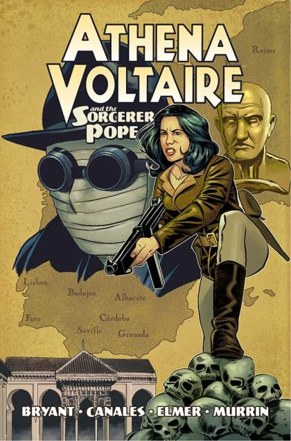 Athena Voltaire and the Sorcerer Pope TPB cover