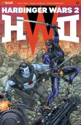 HARBINGER WARS 2 #3 (of 4) – Interlocking Variant by Juan José Ryp