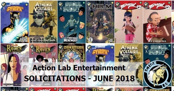 June 2018 Solicits - Action Lab