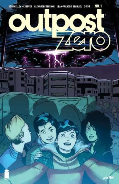 OUTPOST ZERO #1 cover