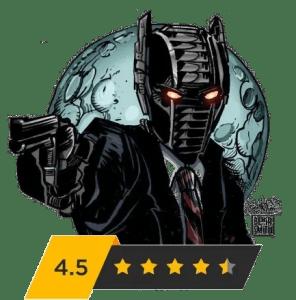 PopCultHQ Rating - 4.5 Stars