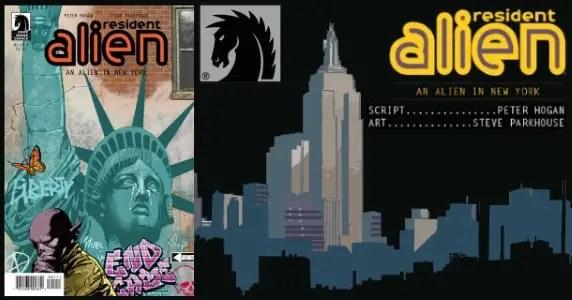 RESIDENT ALIEN: AN ALIEN IN NEW YORK #1