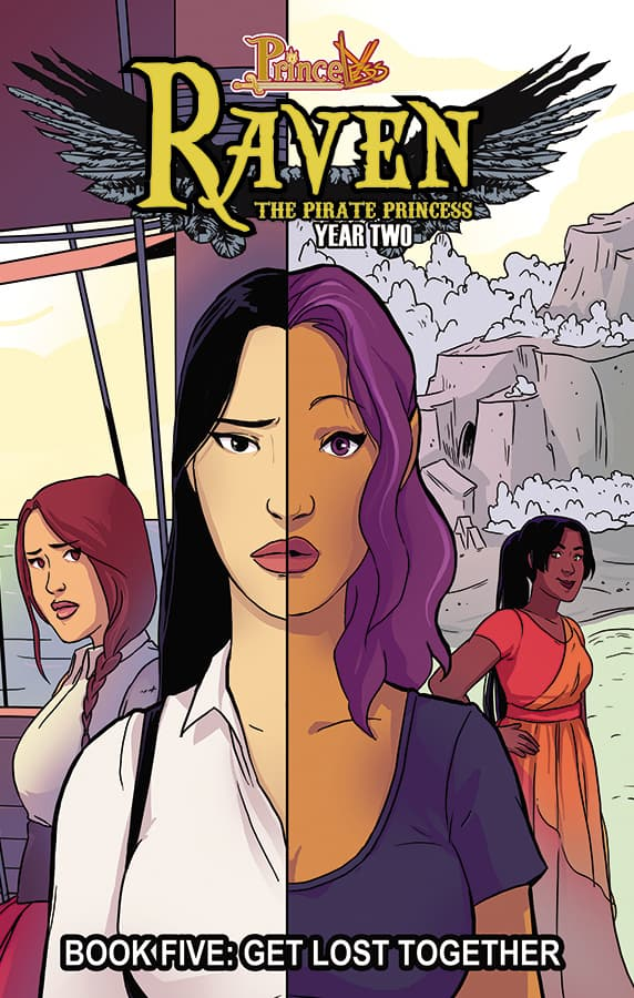 Raven Year 2 Volume 5 TPB Cover