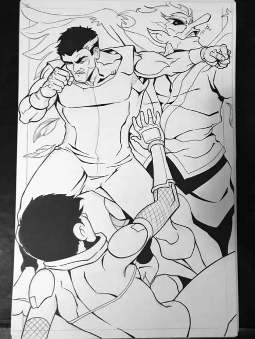 Shinobi: Ninja Princess #4: Lightning Oni page 14