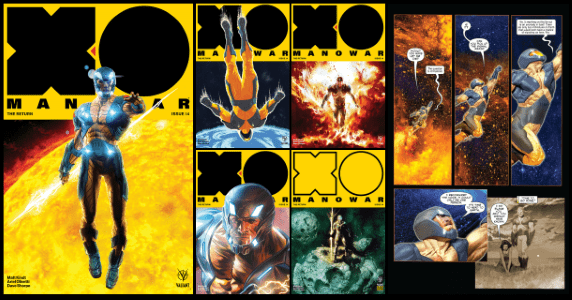 X-O Manowar #14 feature