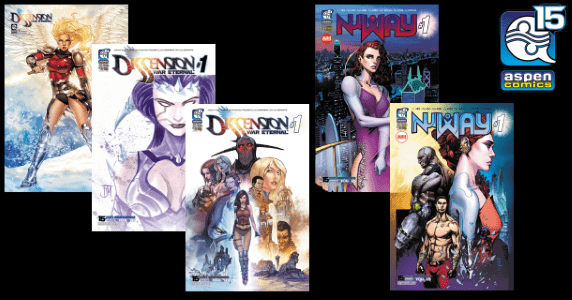 Aspen Comics - Nu Way and Dissension