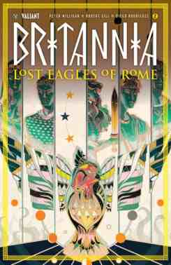 BRITANNIA: LOST EAGLES OF ROME #2 (of 4) - Cover B by Sija Hong