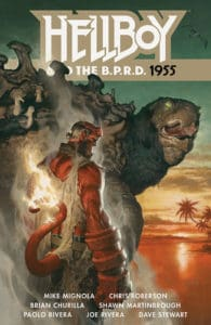 HELLBOY AND THE B.P.R.D. 1955 TPB cover