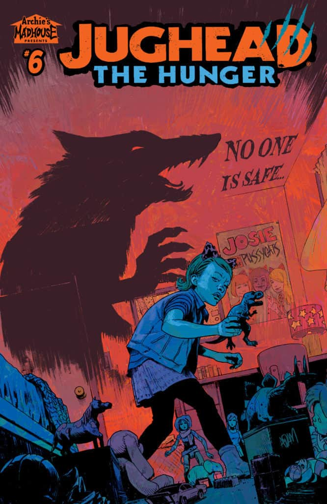Jughead: The Hunger #6 - Main Cover by Adam Gorham