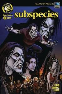 Subspecies #3 - Cover A by Daniel J. Logan