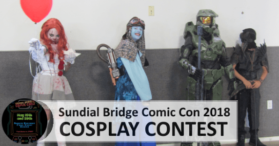 Sundial Bridge Comic Con 2018