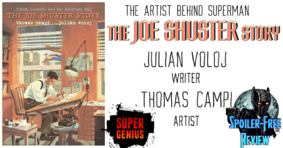 The Joe Shuster Story - The Artist Behind Superman