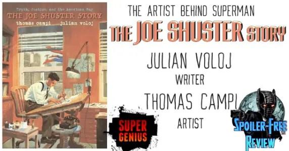 The Joe Shuster Story - The Artist Behind Superman
