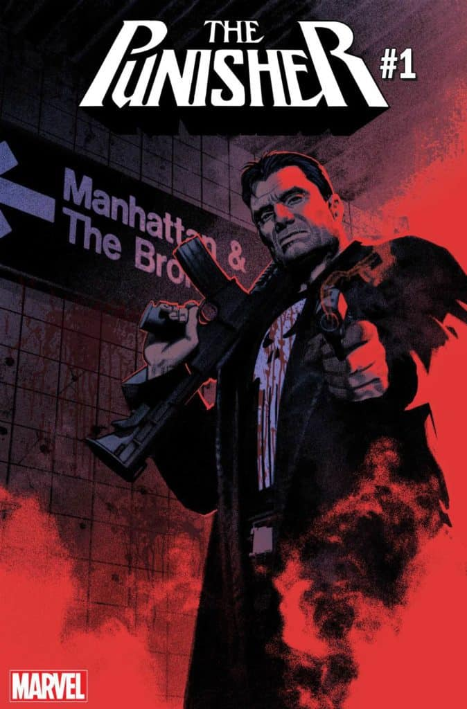 The Punisher #1 Main Cover by Greg Smallwood