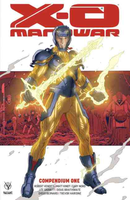 X-O MANOWAR COMPENDIUM ONE TPB - Cover by Paolo Rivera