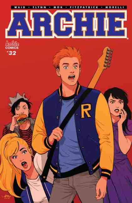 Archie #32 - Main Cover by Audrey Mok