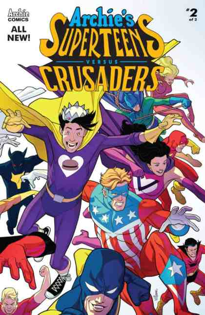 Archie's Superteens Vs Crusaders #2 - Cover A