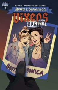 BETTY & VERONICA: VIXENS #8 - Variant Cover by Sandra Lanz
