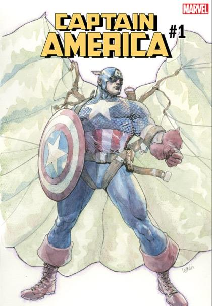 Captain America #1 - Variant Cover by Leinil Yu