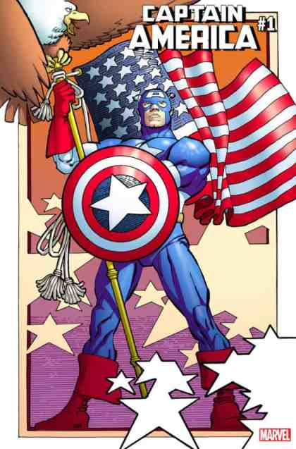 Captain America #1 - Variant Cover by Frank Miller