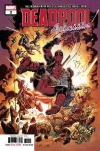 Deadpool: Assassin #2 - Main Cover by Mark Bagley