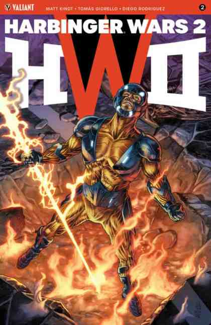 Harbinger Wars 2 #2 - Cover A by J.G. Jones